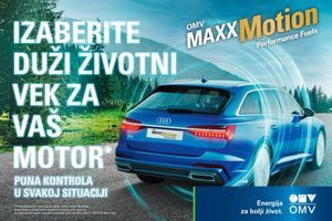 Jedinstvenom formulom OMV MaxxMotion goriva do čistog i efikasnog motora