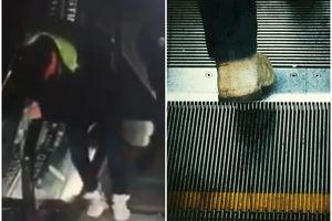 Da li znate ŠTA se zaista dešava ako ne siđete sa pokretnih stepenica na vreme? Njemu se to desilo i - JEZIVO JE