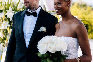 SVADBENA BAJKA Najlepše fotografije sa venčanja srpskog košarkaša i Francuskinje, a o onome što se desilo na kraju svadbe pričaju SVI (VIDEO)