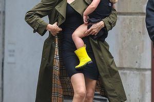 Posle raskida Irina Šajk šeta haljinu od 600 evra, a na ćerki je još SKUPLJA garderoba: Umesto oca manekenki prave društvo DVA MUŠKARCA