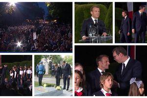 """(UŽIVO) """"FRANCUSKA VAS VOLI"""" Makron na Kalemegdanu ODRŽAO GOVOR NA SRPSKOM uz ovacije: Srbija je u našim srcima danas i zauvek (VIDEO, FOTO) (FOTO, VIDEO)"""