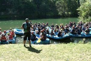 DVOGODIŠNJAK ODUŠEVIO RAFTERE Na Vrbasu održana treća turistička rafting regata (FOTO)