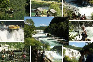 BISER UNE U PRAŠINI MAKADAMA Vodopad očarao stotine hiljada turista iz celog sveta (FOTO)