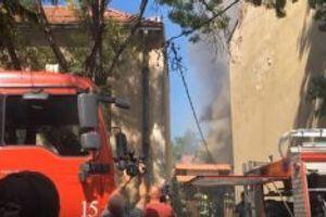 (VIDEO) U požaru gori čuvena niška kafana