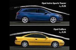 Kraljevi aerodinamike: Nova Opel Astra deli krunu sa modelom Calibra