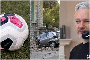 """Danas se igra derbi, jak zemljotres u Albaniji i kako je Asanžu u """"teškoj izolaciji"""": Vaš brifing za nedelju"""